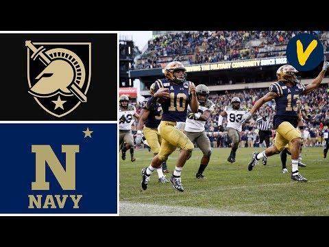 Army Vs Navy Highlights | 2019 College Football Highlights