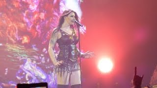 Repeat youtube video Nightwish - While Your Lips Are Still Red / Élan - live @ St. Jakobshalle, Basel 28.11.15