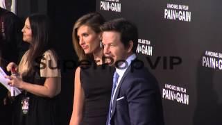 Rhea Durham, Mark Wahlberg at Pain and Gain Los Angeles P...