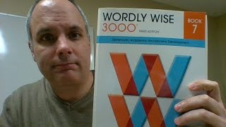 Wordly Wise Lesson English Academic Vocabulary