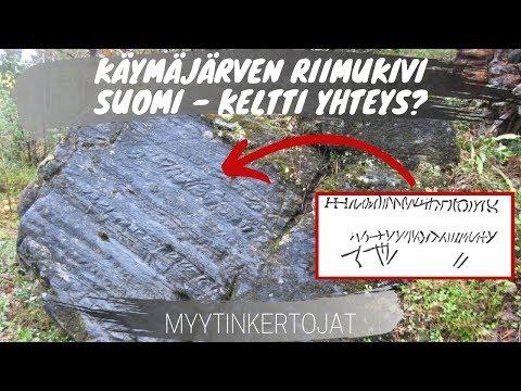 Käymäjärven riimukivi ja Suomi - Keltti yhteys