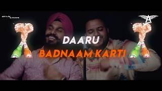 Dj Angel - Daru Badnaam (Remix)