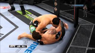 EA Sports UFC - Ryan Bader vs Antonio Rogerio Nogueira Gameplay (PS4 HD) [1080p]