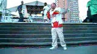 Vandal performs OPD live at Yonge & Dundas Sq here's a snippet - SM...