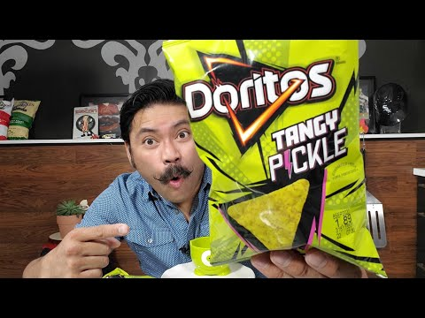 NEW Tangy Pickle Doritos! FINALLY Here In The U.S.