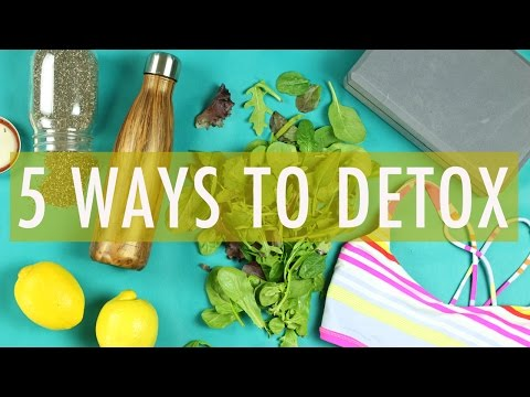 5 EASY ways to DETOX | Chit Chat Video & Announcements!
