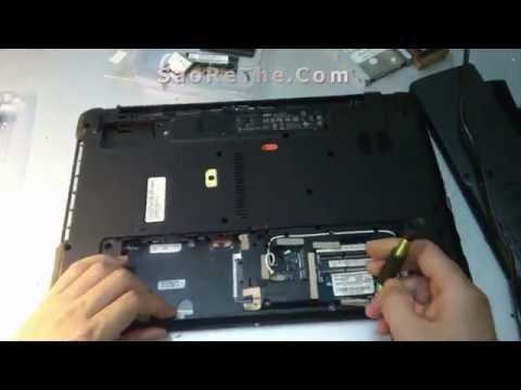 Hướng dẫn vệ sinh LapTop Đúng cách - Laptop Acer I5
