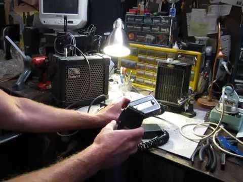 Vintage Modified Pace CB Microphone w D&J Electronics Reverb