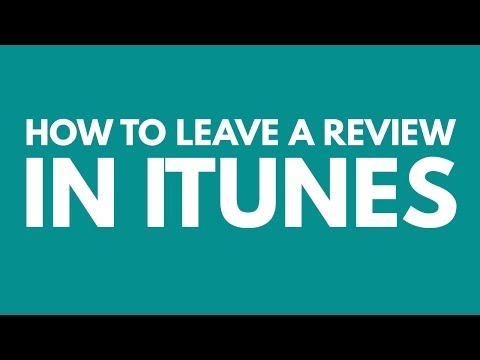How to Review the Online Course Masters Show in iTunes
