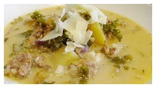 Olive Garden&#39s Zuppa Toscana  Sausage and Kale soup keto recipes