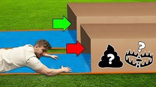 Rutsche NICHT in die FALSCHE Mystery Box!!