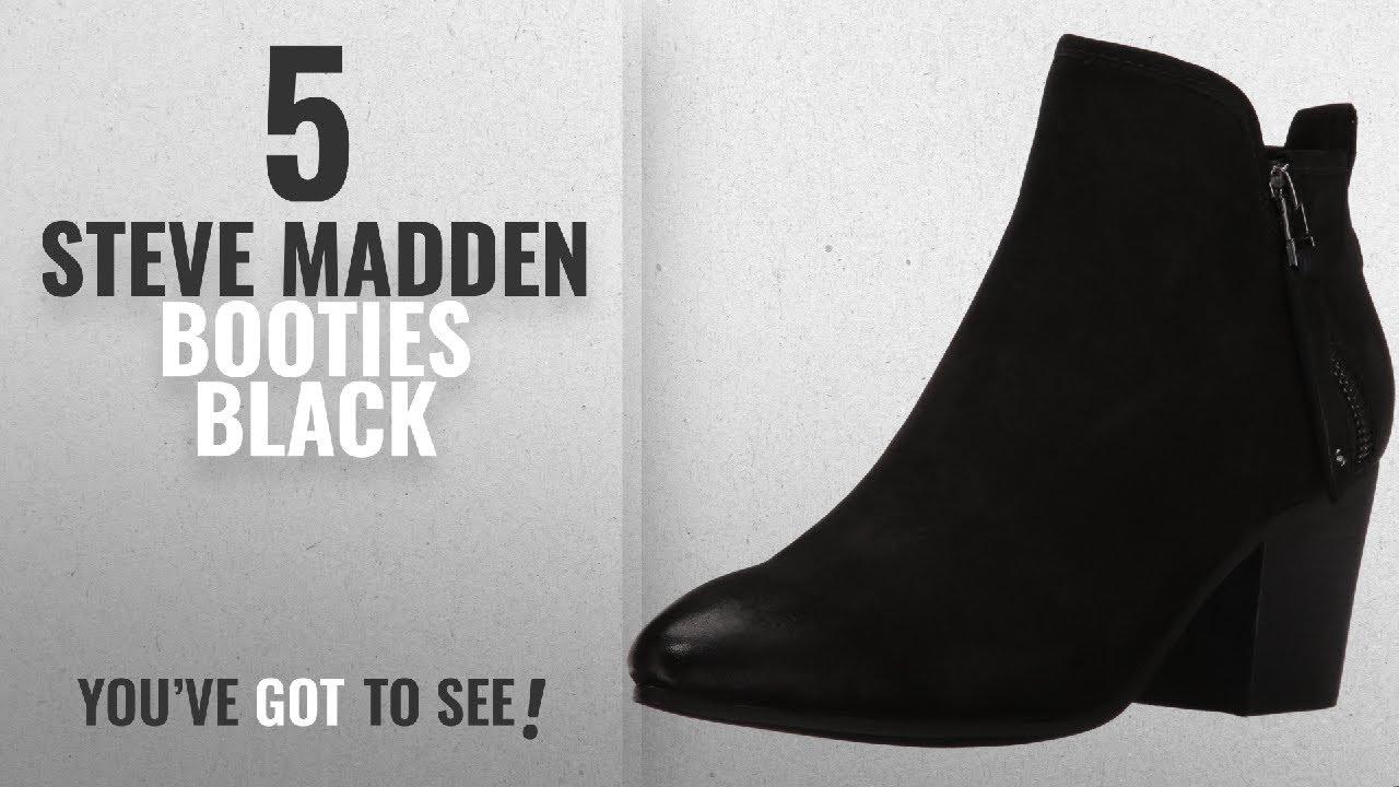 399395cb61f Top 5 Steve Madden Booties Black  2018   Steve Madden Women s Julius ...