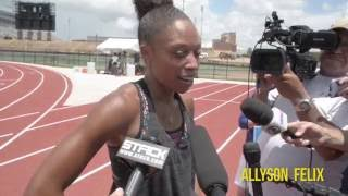 World Champion Sprinter Allyson Felix Is Ready for the 2016 Rio Olympics