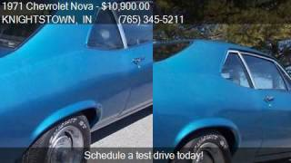 1971 Chevrolet Nova  for sale in KNIGHTSTOWN, IN 46148 at 50