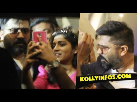 WOW!! SIMBU at Chennai Airport | fans Excited | STR | Birthday Celebration