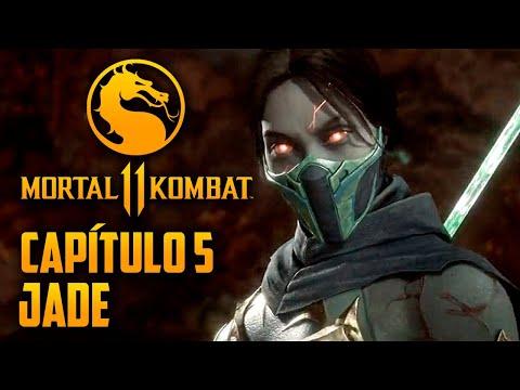 Mortal Kombat 11 Capitulo 05 - JADE a guerreira verde (PT-BR PS4 PRO)