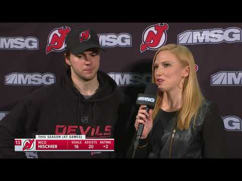 Nico Hischier Goes Over Two-Goal Game   New Jersey Devils Post Game Mp3