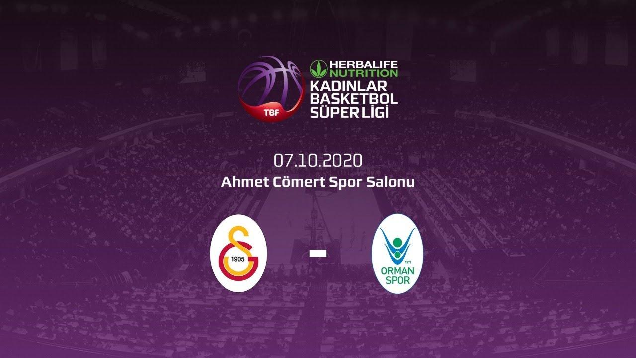 Galatasaray – OGM Ormanspor Herbalife Nutrition KBSL 2.Hafta