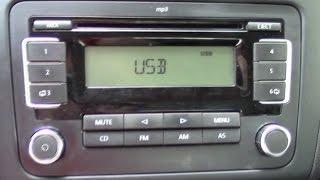 Volkswagen Polo Sedan Добавляем USB Mp3 в штатную магнитоллу RCD-30(, 2014-08-10T15:12:12.000Z)
