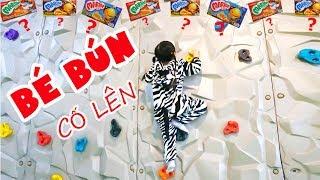 BÉ BÚN NGỰA VẰN – BÉ BẮP HƯƠU CAO CỔ ĐI CHƠI KHU VUI CHƠI TRẺ EM   Indoor Playground for Kids