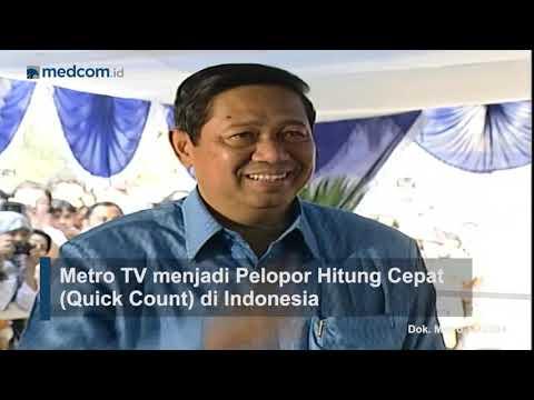 Metro TV Milestone: Pemilihan Presiden (2004)