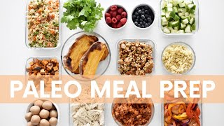 FULL 7 Day Paleo Meal Prep + FREE Downloadable Meal Plan