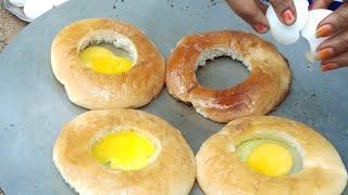 Bread Off Boile Recipe / Breakfast Food children / Village Cooking Style,Naveena Pujari