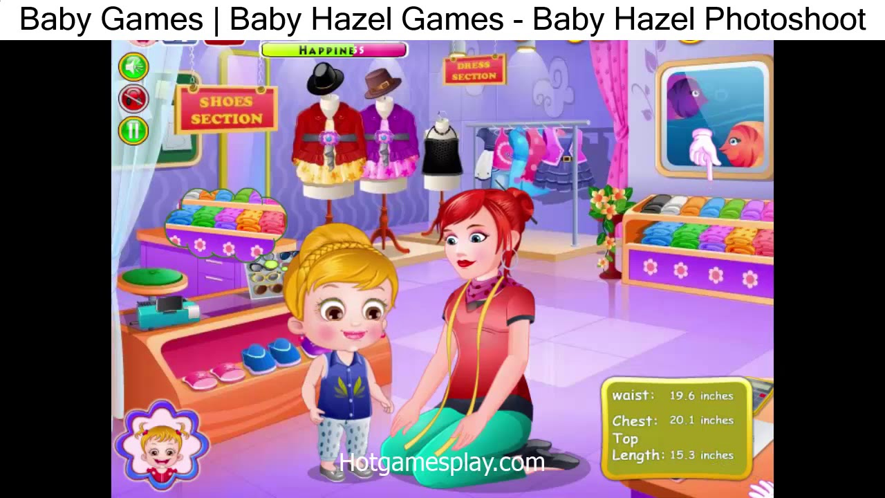 Baby Games Baby Hazel Games Baby Hazel Photoshoot Youtube