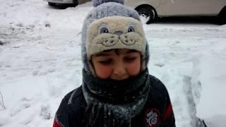 7 january 2017 Snow Istanbul Day time 7 ocak 2017 İstanbul kar yağışı part 3
