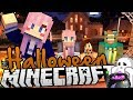 Minecraft Halloween Spooky Mansion Challenge!