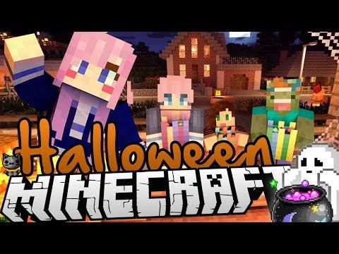 Minecraft Halloween Spooky Mansion Challenge!