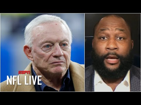 Marcus Spears questions Jerry Jones' future as Dallas Cowboys GM | NFL Live