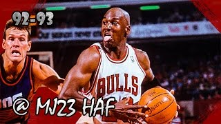 Michael Jordan Highlights vs Suns (1993.03.30) - 44pts, Dan Majerle got torched!
