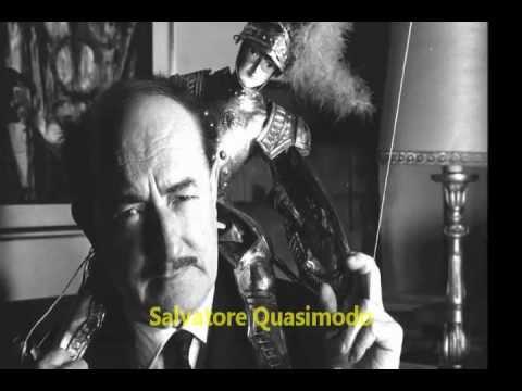 Ed e 39 subito sera lettura edizione di leonardo madier - Poesia specchio di quasimodo spiegazione ...
