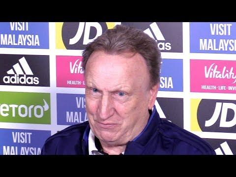 Neil Warnock Full Pre-Match Press Conference - Leicester v Cardiff - Premier League