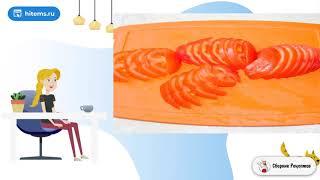 Свиные отбивные с овощами под сыром в духовке Рецепты