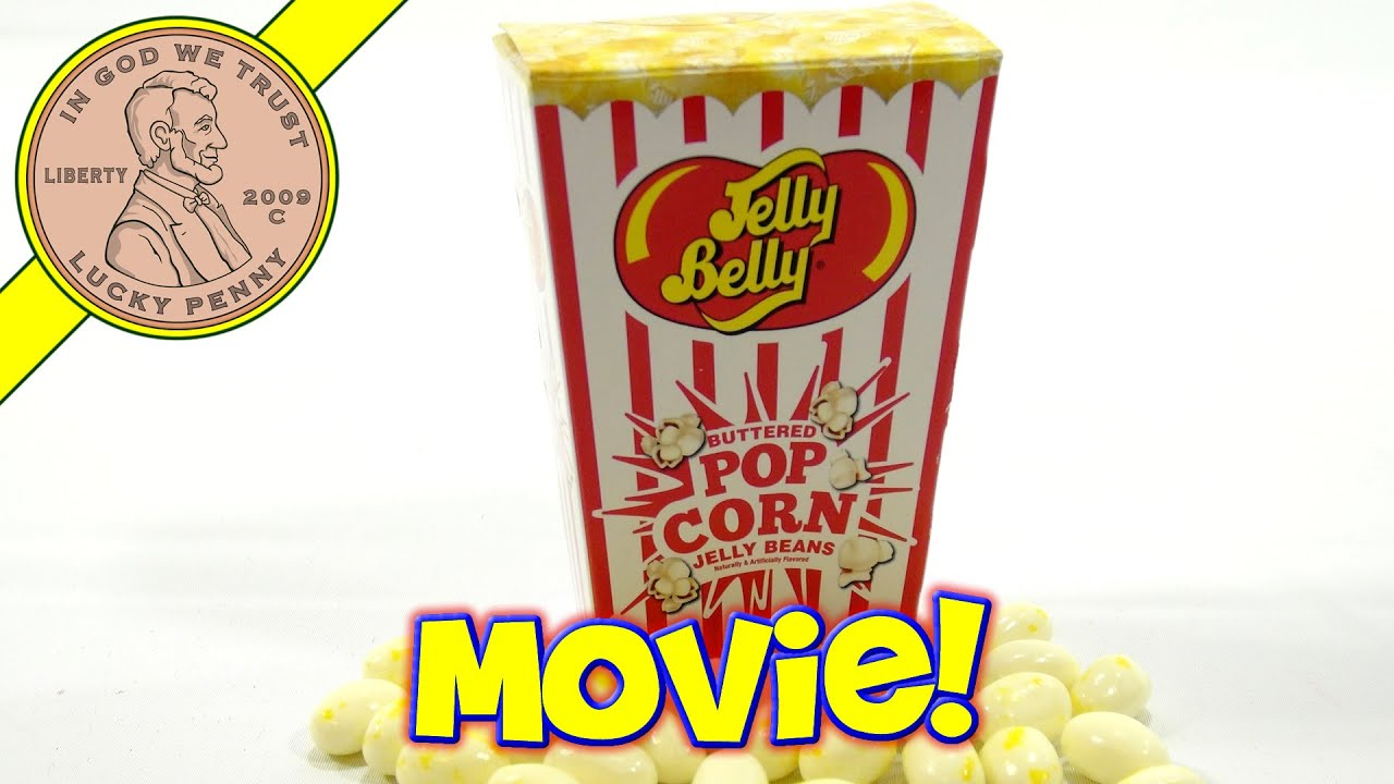Jelly Belly Buttered Pop Corn Jelly Beans Youtube