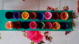 SIMPLE QUILLING ROSES || PAPER ROSES