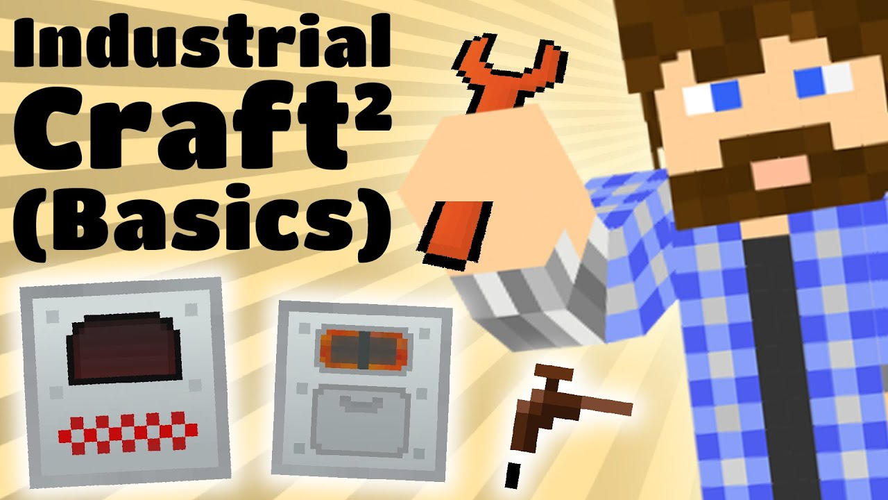 Cub's Guide to Industrial Craft 2 (Basics) - YouTube