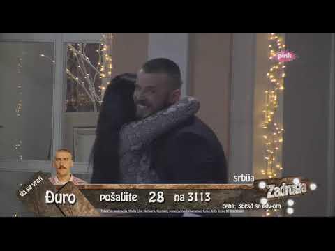 Zadruga 2 - Vlada se vratio u rijaliti, pa poljubio Zerinu - 10.02.2019.