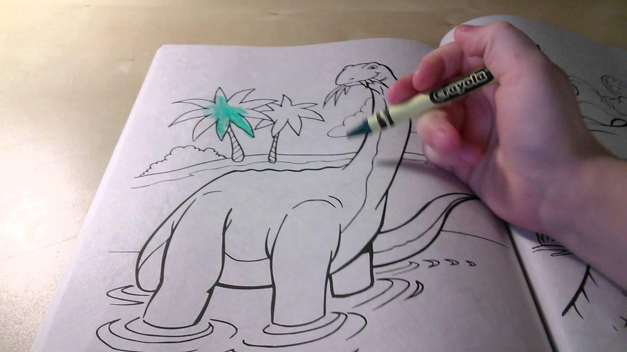 Dinosaur Coloring Book - YouTube