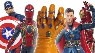 Infinity Gauntlet Comes Out On of Dr. Strange Magnet Board! Avengers, Defeat Thanos ❤️ RACHAMAN TOY