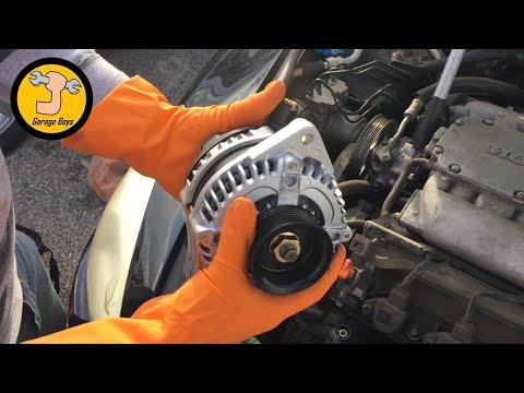 How To Remove Alternator On 2003-2007 Honda Accord V6