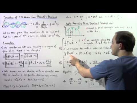 Derivation of Electromagnetic Waves from Maxwell's Equations