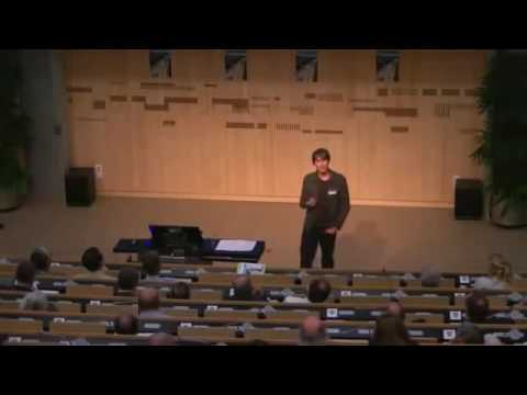 Brian Cox Lecture at CERN Particle Physics