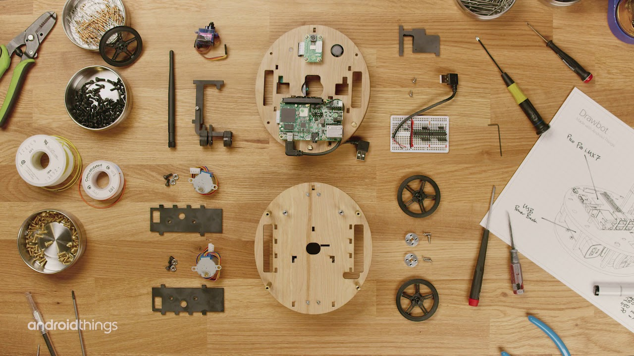 Build your own Drawbot powered by Android Things