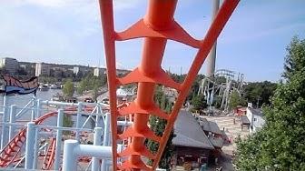 Trombi front seat on-ride HD POV Särkänniemi Amusement Park
