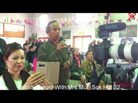 SK Media Report By Korb Sao Public Forum With  Mur  Sok Hur 22