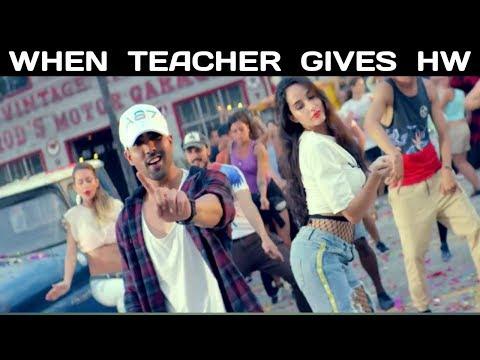 Every Homeworks (HW) Story On Bollywood Style - Bollywood Song Vine