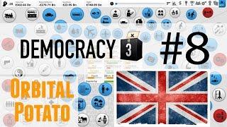Democracy 3 - All DLC - Part 8 - UK - Economic Miracle!